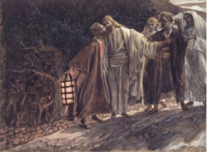 """The Kiss of Judas"" by James Tissot (1836-1902)"